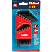 """Eklind 10113 .050-3/8"""" 13 Pc. Short Arm SAE Hex Key Set"""