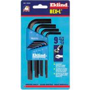 Hex-L Key Sets, EKLIND TOOL 10509