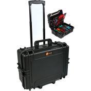"Elephant® Elite Watertight Case With Tool Organizer EL1907TW - Wheeled 21-7/8""x17-1/2""x10-3/16"""