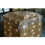 "Pallet Top Sheet 60"" x 60"" 1.25 Mil Clear 250 Pack"