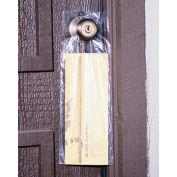 "Polypropylene Doorknob Bag 15"" x 9-1/2"" 0.65 Mil 2,000 Pack"
