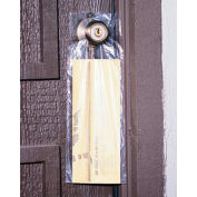 "High Density Doorknob Bag 15"" x 9-1/2"" 0.45 Mil 2,000 Pack"