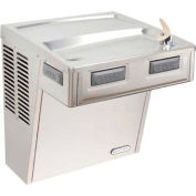 Elkay Wall Mount ADA Water Cooler, Stainless Steel, 1, Wall Hung, 115V, 60Hz, 5 Amps, EMABF8S
