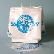 """Slide Seal """"Fresh to Go"""" Bag on Saddle Pack - 10"""" x 8"""" - 1 Mil Pkg Qty 1000"""
