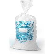 Metallocene Ice Bag with Drawstring Closure - Printed Pkg Qty 500