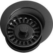 Elkay LKD35BK, Black Disposal Flange w/Removable Basket Strainer For Kitchen Sink Disposer
