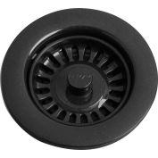 Elkay LKQS35BK, Black Drain Fitting w/Removable Basket Strainer For Kitchen