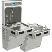 Elkay LMABFTLDDWSLK EZH2O Water Bottle Refilling Station, Bi-Level, Non Refrig, Filtered, Light Gray