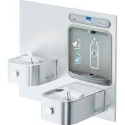Elkay LZWS-EDFP217K EZH2O Water Bottle Refilling Station, Integral Fountain, Non Refrig, Filtered,SS
