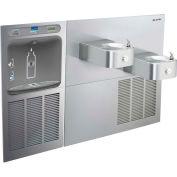 Elkay LZWS-SS28K EZH2O Water Bottle Refilling Station, SwirlFlo Bi-Level Refrig Cooler, Filtered, SS