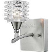 """ELK Lighting 17130/1 Matrix Bathbar, Satin Nickel Finish, 4""""W x 4""""H"""