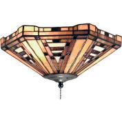 Landmark 990-F American Art 2-Light Fan Kit/Ceiling Mount, Classic Bronze