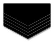 "Elmer's® Sturdy Foam Board, 3/16"" Thick, 20"" x 30"", Black, 10/Carton"