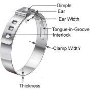 Oetiker Steeples Ear Clamps, Band Range 14.5 -17.0mm