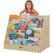 "ECR4Kids® Birch Mobile Book & Storage Unit, 36""W x 24""D x 30""H"
