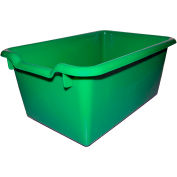 "ECR4Kids®  ELR-0482 Scoop Front Bin, 11-1/2""L x 8""W x 5""H, Green, Priced Ea, Sold 10/PK - Pkg Qty 10"