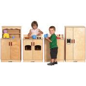 ECR4Kids® Birch Play Kitchen Set - 4 pc.