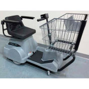 Electro Kinetic Technologies EZ-Shopper Electric Grocery Cart EZS-1772-8000-GRA Gray 750 Lb. Cap.