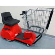 Electro Kinetic Technologies EZ-Shopper Electric Grocery Cart EZS-1772-8000-RD Red 750 Lb. Cap.