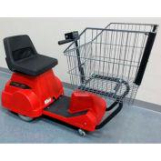 Electro Kinetic Technologies EZ-Shopper Electric Grocery Cart EZS-1772-8000-RD Red 750 Lb. Cap.