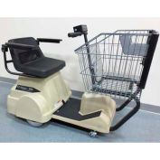 Electro Kinetic Technologies EZ-Shopper Electric Grocery Cart EZS-1772-8000-TNA Tan 750 Lb. Cap.