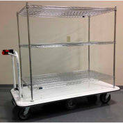 "Electro Kinetic Technologies Motorized Stock Cart MCS-1772-243615-54 1500 Lb. Cap. 36""x24""x54"""