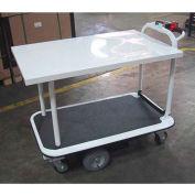 "Electro Kinetic Technologies Motorized Platform Truck MPCS-1772-264015  1500 Lb. Cap. 40"" x 26"""