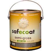 AFM Safecoat Semi Gloss Enamel Accent Base 0 VOC, White 32 Oz. Can 1/Case - 14292