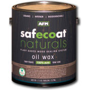 AFM Safecoat Naturals Oil Wax Finish, Clear Gallon Can 1/Case - 40116
