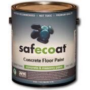 AFM Safecoat Concrete Floor Paint Accent Base, White Gallon Can 1/Case - 75194