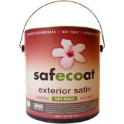 AFM Safecoat All Purpose Exterior Satin Tint Base, White 32 Oz. Can 1/Case - 90235