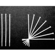 """Embassy 7"""" Nylon Cable Ties 11440000, Package of 1000"""