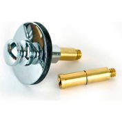 """Watco 38516-Bn Push Pull® Replacement Stopper W/ 5/16"""" & 3/8"""" Post, Brushed Nickel - Pkg Qty 3"""