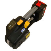 "Heavy Duty Battery Tool For Poly Strapping 1/2"" - 5/8"" Strap Widths"
