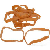 """ENCORE Standard Rubber Band Size 107, 7"""" X 5/8"""" Wide, Approximately 40 Bands"""