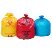 Stout Isolation Bags, 24 x 24, Red, 1.20 Mil, Flat Pack, 250/CS - B2424R12