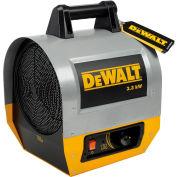 DeWALT® Portable Forced Air Electric Heater  DXH330 3.3kW, 240V, Single Phase, 8,900 BTU