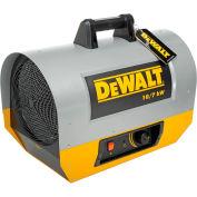 DeWALT® Portable Forced Air Electric Heater DXH1000TS 10kW, 240V, Single Phase, 22K to 34K BTU