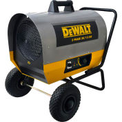 DeWALT® Portable Forced Air Electric Heater DXH2000TS 20kW, 240V, Single Phase, 44K to 68K