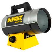 DeWALT® Portable Forced Air Propane Heater DXH65FAV 35K to 65K BTU