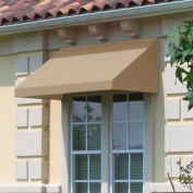 "Awntech EN23-5L, Window/Entry Awning 5' 4-1/2"" W x 3'D x 2'H Linen"