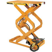 ECOA TabILift™ CDL Series Compact Double Scissor Lift Table CDL-15-36-18036-230-3 36x18 1500Lb