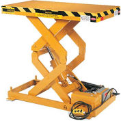 ECOA TabILift™ CLT Series Double Scissor Lift Table CLT-06-36-S-24036-230-3 36x24 6000 Lb. Cap