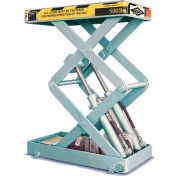 ECOA Myti-Lift™ CLTMYT Compact Double Scissor Lift Table CLTMYT-05-30W-12024-115-1 24x16 500Lb