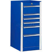 """Extreme Tools 16"""" Side Box for EX 56"""" or 41"""" Series in Blue"""