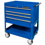"""Extreme Tools 32"""" Deluxe Tool Cart in Blue"""