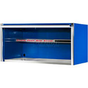 "Extreme Tools 55"" Professional Power Workstation Hutch in Blue"