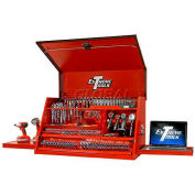 """Extreme Tools 41"""" Deluxe Portable Workstation® in Textured Red"""