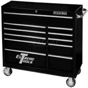 "Extreme Tools 41"" Standard Roller Cabinet in Textured Black"
