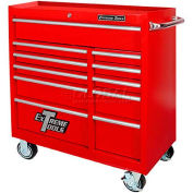 "Extreme Tools 41"" Standard Roller Cabinet in Textured Red"